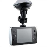 Coche DVR de 2,4 pulgadas K6000 Full HD Dash Cam Dashcam LED Night Recorder CAMCORDER PZ910 Aparcamiento monitoreo de detección de movimiento One Key Lock