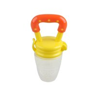 Silicone feeders baby fruit pacifier feeder food nipple feed...