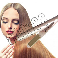 New Arrival Straightener Iron Brush Ceramic 2 In 1 Hair Stra...