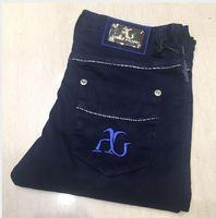 Мужские джинсы, весна, лето, весна, лето, весна, лето, мода, досуг, британская вышивка, эластичные брюки S-5XL