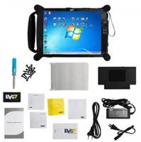DHL livre EVG7 DL46 / HDD500GB / DDR8GB Controlador de Diagnóstico Tablet PC instalado bem Para BMW ICOM ISTA Software 2018/05 versão