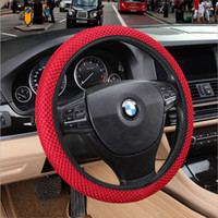 DIY Car Steering Wheel Cover Fit For Most Cars Breathability...