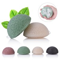 Konjac Konnyaku Facial Puff Face Cleanse Washing Sponge Konj...