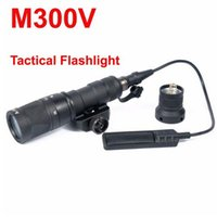 SF M300 M300V Scout Light LED Light Белый / ИК / мгновенный выход тактический фонарик Факел