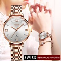 Ultra- thin Women' s Watches Swiss Movement Wrist Watch W...