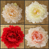 New Artificial Flowers Silk Peony Flower Heads Party Wedding...