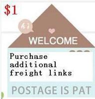 패션 쥬얼리 로고 가방 상자 카드 리본 태그 보석으로 판매 된 추가화물 지불 링크 구매자