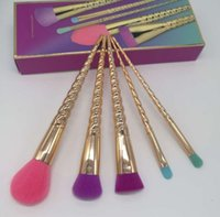 2018 makeup brushes sets with box cosmetics brush bright col...