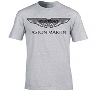 novo chegou camisa T homens Aston Martin camisa do logotipo t superiores do sexo masculino tees
