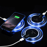 Crystal Fantasy Qi Wireless Charger For iPhone X 8 Plus Char...