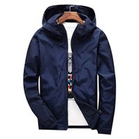 CALOFE Winter Windbreaker Jacket Men Autumn Large Size Mens ...
