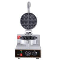 Ticari waffle makinesi, yapışmaz yüzeyli paslanmaz çelik waffle fırıncı makinesi