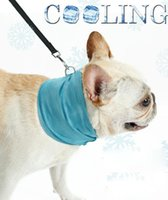 Ice Cooling Towel Bandana For Pet Dog Cat Scarf Summer Breat...