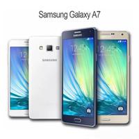 Samsung originali Samsung Galaxy A7 A7000 4G LTE Mobile Phone Octa-Core 5.5 '' 13.0MP 2G RAM 16G Dual SIM SIM Smartphone sbloccato