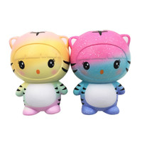 Squishy Toys Super Slow Rising PU Kawaii Starry Sky Tiger An...