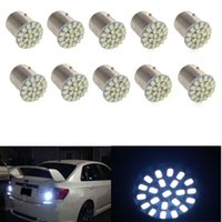 10Pcs Tail Break Stop Turn Signal Light 132LM White 1157 BAY...