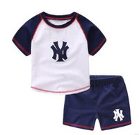 Wholesale Brnad New Children Clothing Summer 2- Piece Set Bab...