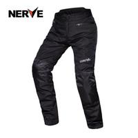 NERVO homens Blanca motocross calças calças com forro removível algodão, Oxford profissional ao ar livre pantalon moto S M L XL XXL XXXL