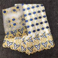 Ткань белые цвета африканский базин богатый кружева нигерийские женские платья материальные ткани -l5