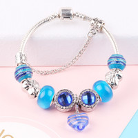dodocharms Romantic Silver Color Charm Bracelets & Bangles B...