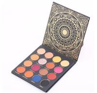 Ace Beaute 16 ألوان Eyeshadow Platte Ace Beaute Kintessental Palette 16 ألوان ماتي وشني عينيه DHL