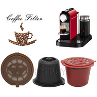 Home Kitchen Refillable Coffee Capsule Cup Reusable Refillin...