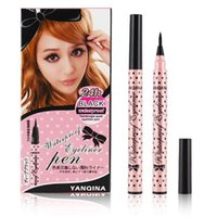 YANQINA Black Eyeliner Pencils Liquid Eye Liner Eyeliner Pen...
