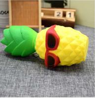 Этмакит Каваи мягкий крем игрушка ананас форма медленный рост снимает стресс игрушка для детей взрослых беспокойство внимание