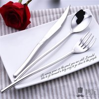 Wedding Stainless Steel Cutlery Sets Dinnerware Sets Steel 3...