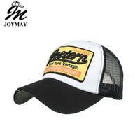 JOYMAY Bahar Yaz Yeni Güneş Şapka Gölgeleme Kap Batı Nakış Örgü Beyzbol Şapkası Rahat Eğlence Şapka B487 Ücretsiz Kargo