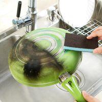 Nueva Llegada Nanómetro Diamante Arena Esponja Descalcificación Clean Magic Pan Pot Ventanas Cepillo de Limpieza Esponja Accesorios de Cocina