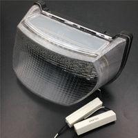 прозрачный мотоцикл LED задний фонарь световой сигнал для Kawasaki Ninja ZX7R / ZX750 / ZX7RR 1996-2003 GPZ1100 / ZX1100 1995-1997