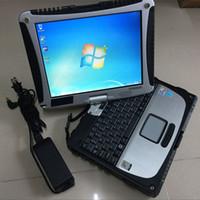 Software Auto Repair Tool Alldata Tutti i dati 10.53 installati in ToubleBook CF-19 Computer touch screen del computer portatile con 1 TB HDD