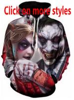 Film Suicide Squad 3D lustige neue Mode Männer / Frauen Hoody Hoodies Pullover Sweatshirt Jacke Pullover Top W79