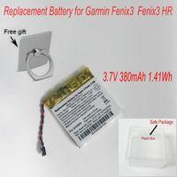 New Repalcement 380mAh 1.41Wh 361-00034-02 Battery for Garmin Fenix 3 Fenix 3 HR Smartwatch GPS Battery