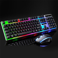 Keyboard Mouse Combo Keyboard Gaming Mouse Backlit LED Gamin...