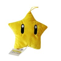 High Quality 100% Cotton 8 inches 20cm Super Mario Bros Star...