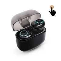 Wireless Earbuds, Touch Control Bluetooth Headset Noise Canc...