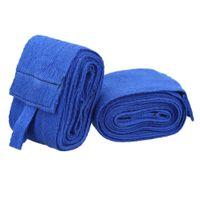 2PCS 2.4M الملاكمة Handwraps ضمادة MMA تدريب المعصم حماية قبضة الضرب قفازات الملاكمة رياضية ماجيك ملصق اللون في عشوائي
