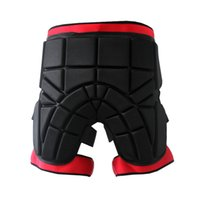 Men women Outdoor Sports Safety Black Protective Hip Padded ...