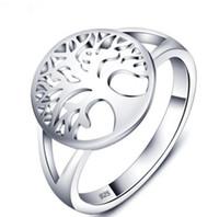 Tree of Life Classic Accessoires 925 Sterling Silber Ringe für Frauen Neue Muttertagsgeschenke