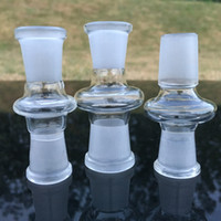 Thick Scientific Glass Tube Adapter 18MM a 14MM Male Female Essential Adapter Streamlined Glass Frosty Joint Connector