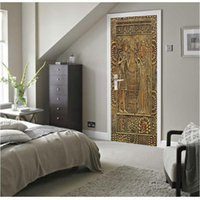 Wall Painting Egyptian Pharaoh 3D DIY Mural Wallpaper Backgr...