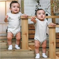 New Born Baby Romper Cotton Romper Baby onesies short sleeve...