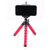 مصغرة حامل الهاتف كاميرا مرنة مرنة حامل الأخطبوط ترايبود حامل حامل جبل Monopod آيفون 6 7 8 زائد الهاتف الذكي