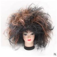 Нищий парик взрыва головы преувеличены Необычные костюмы выпускного вечера фестиваля производительности реквизит, потому что сумасшедший дикий головной убор фабрика прямые продажи