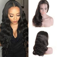 Body Wave Glueless Full Lace Wigs For Black Women Natural Co...