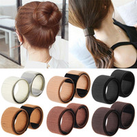 6PCS fashion Women Girls Hair Styling Donut Former Foam Fren...