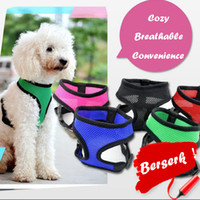 Dog Fashion CW002 Vest macia Air Nylon Mesh Pet Harness roupas para cachorros Harness Dog roupas para Promoção pet