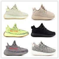 2018 Butter ice yellow 350 v2 Running Shoes Beluga 2. 0 Cream...